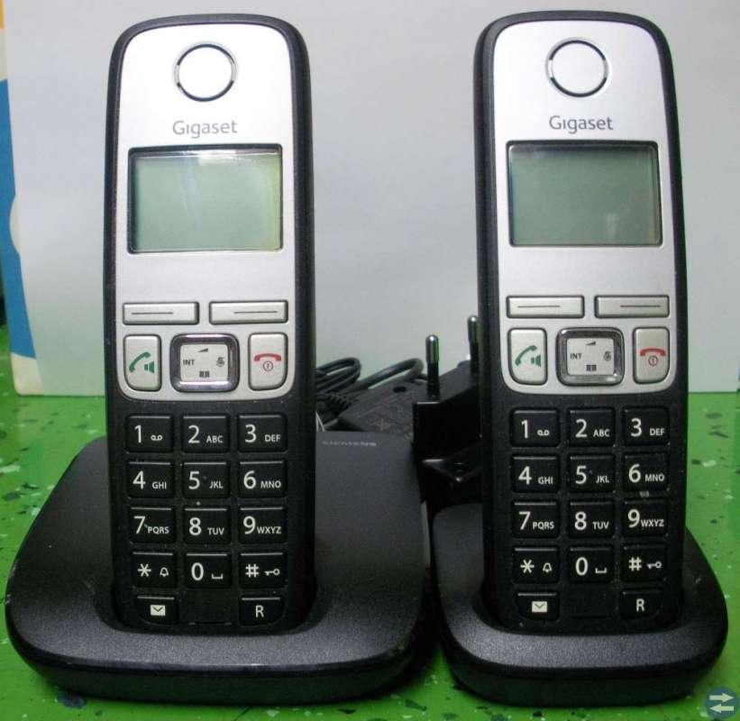Trådlösa telefoner + Telefonsvarare