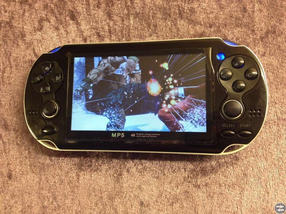Multimedia Spelare med Joysticks och Kamera!