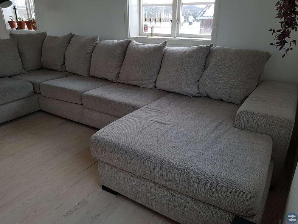 Fin u-soffa