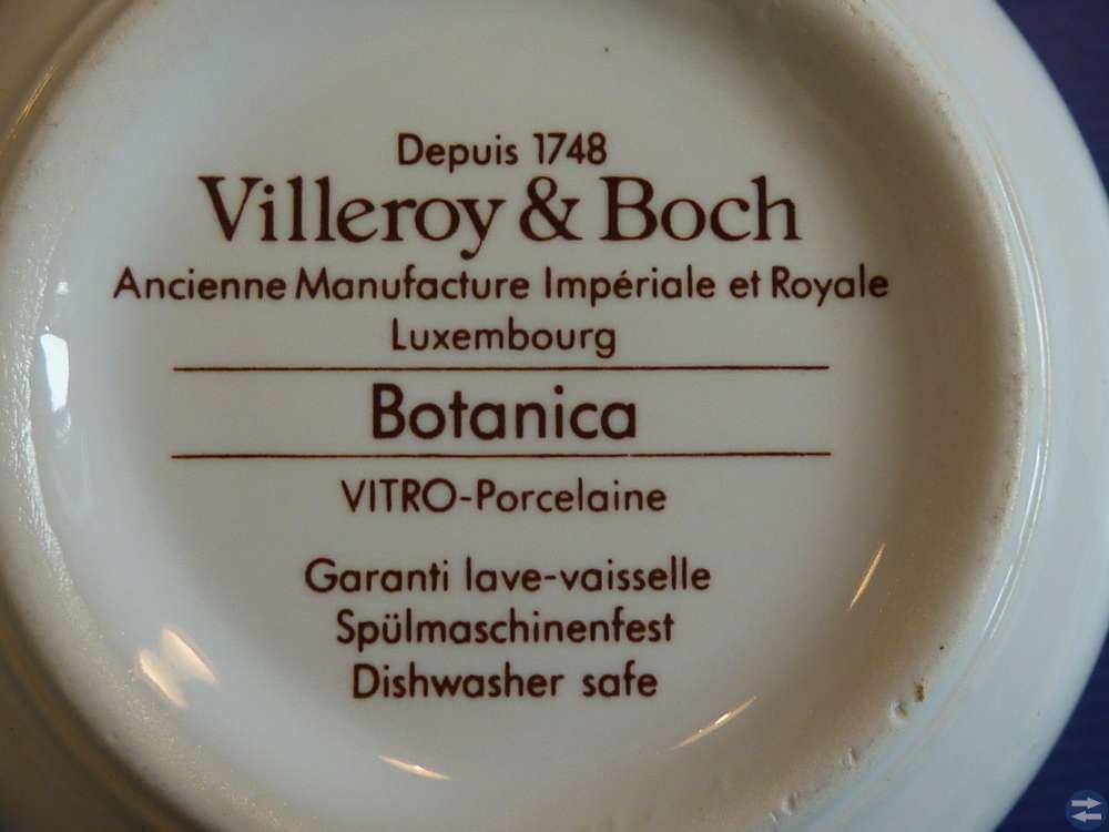 Porslin BOTANICA Villeroy & Boch 23 delar