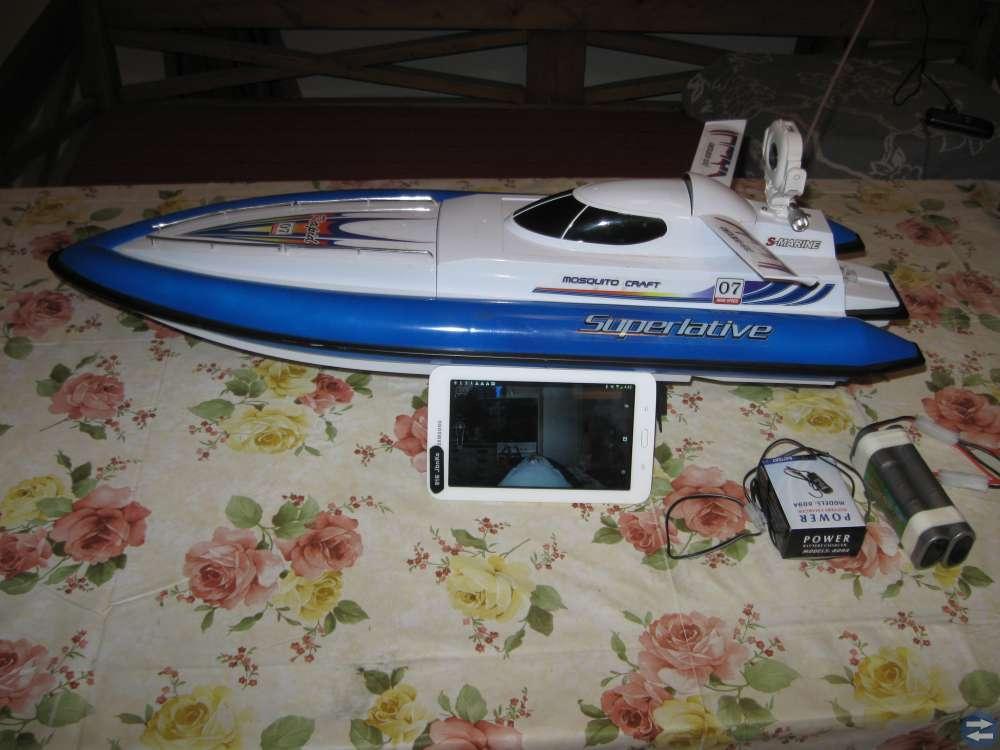 RC-båt 80 cm lång