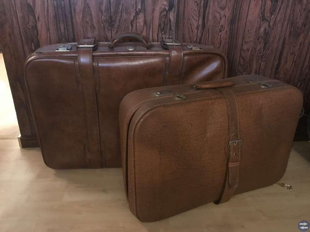 Gammal resväska