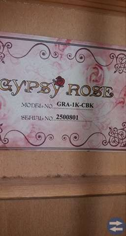 Gypsy Rose akustisk gitarr