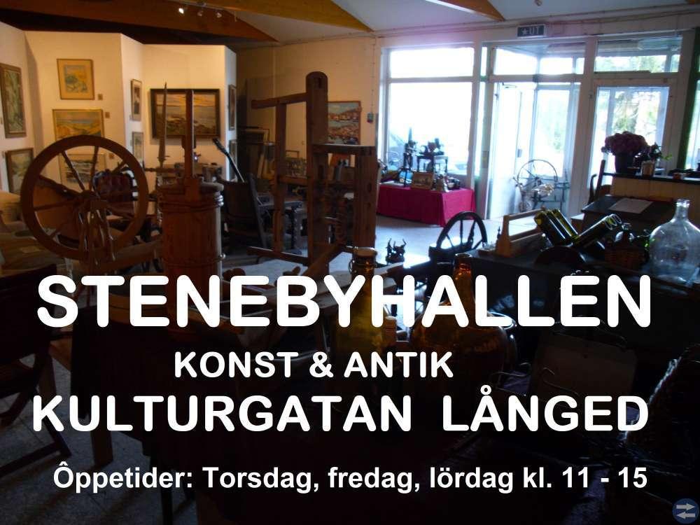 STENEBYHALLEN KONST O ANTIK