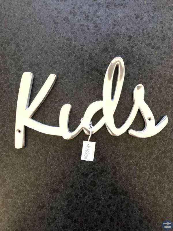 Kids skylt