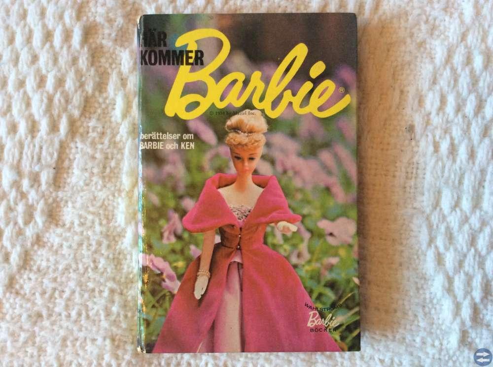 Här kommer Barbie, tryckt 1956