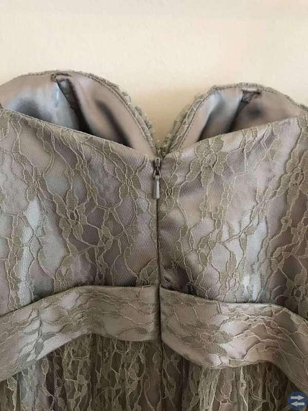 Balklänning, Silver/Grå, stl S
