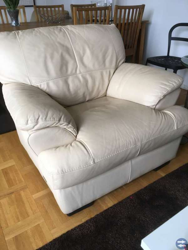 Skinn soffa