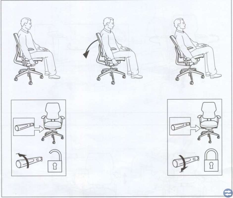 Kontorsstol - arbetsstol
