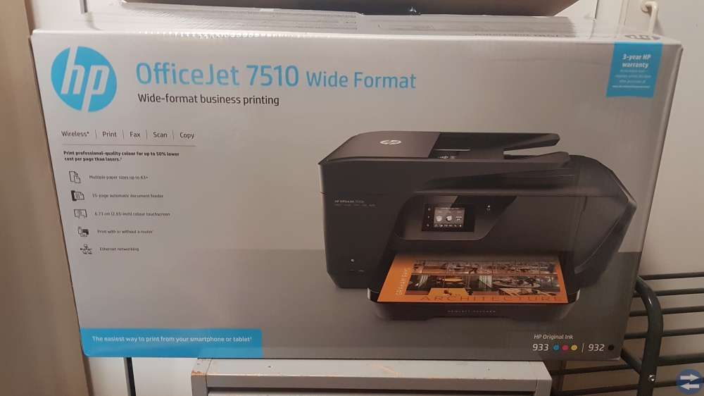 Skrivare HP Officejet 7510