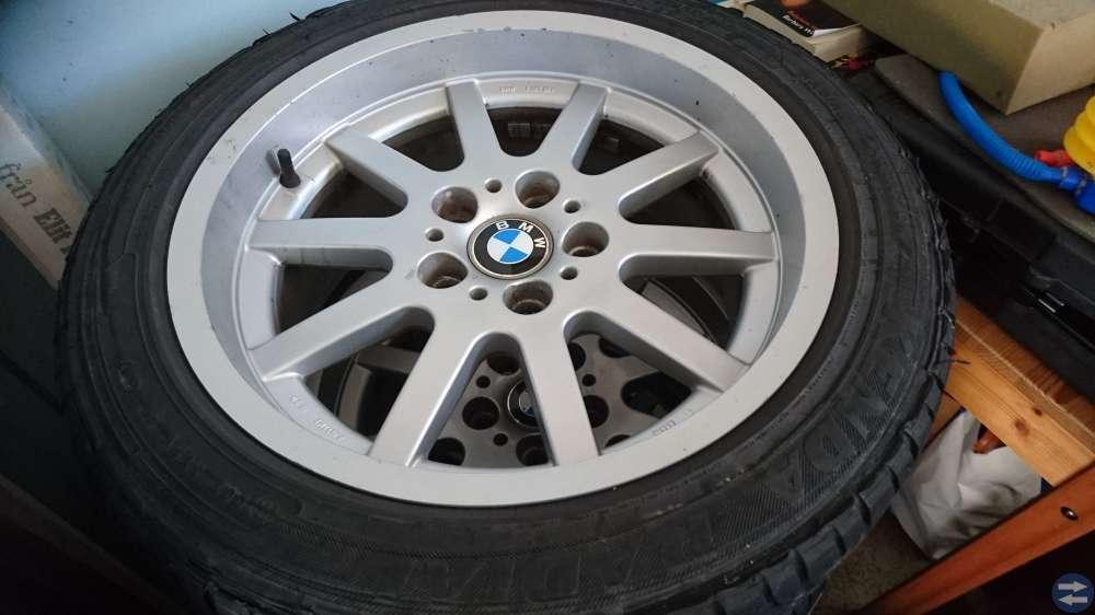 17 tums BBS fälgar till BMW 525 1994  235/45/17