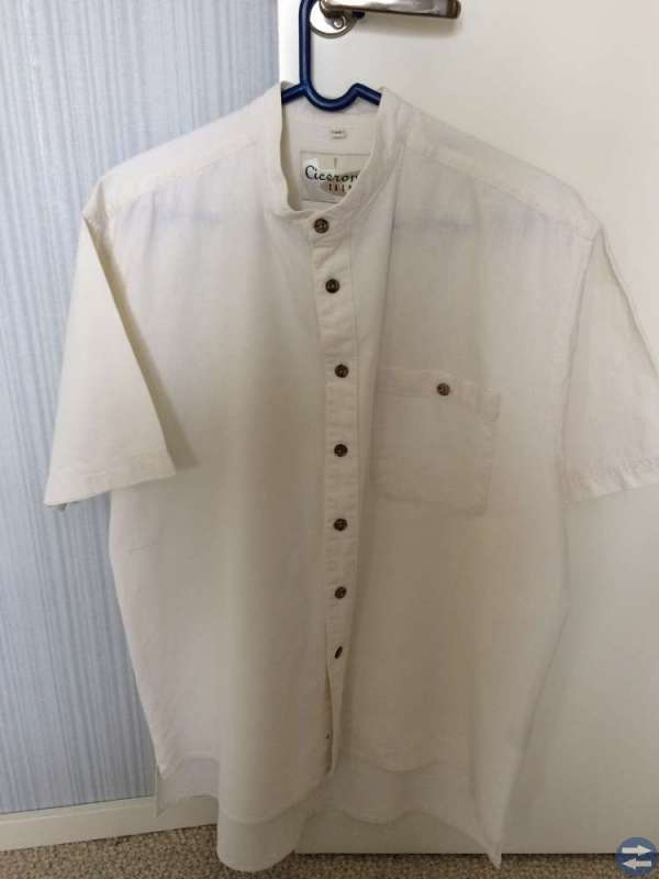 Linneskjorta, storlek L