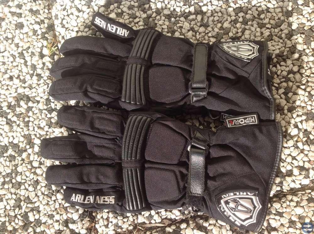 MC-ställ kpl., handskar, stövlar,hjälm