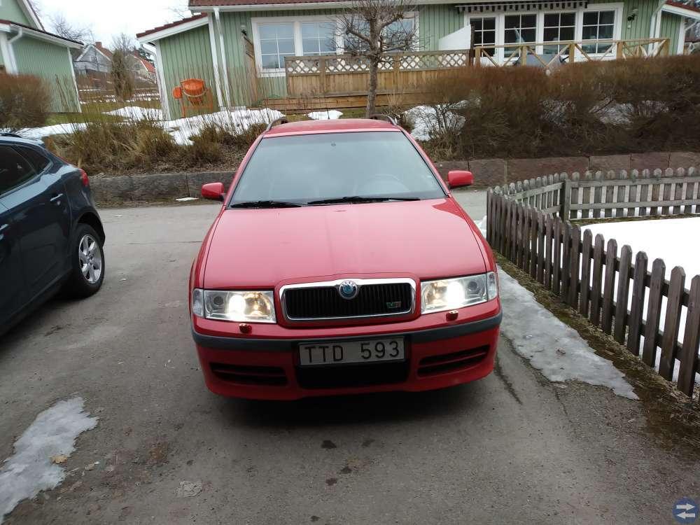 Skoda oktavia RS 2002