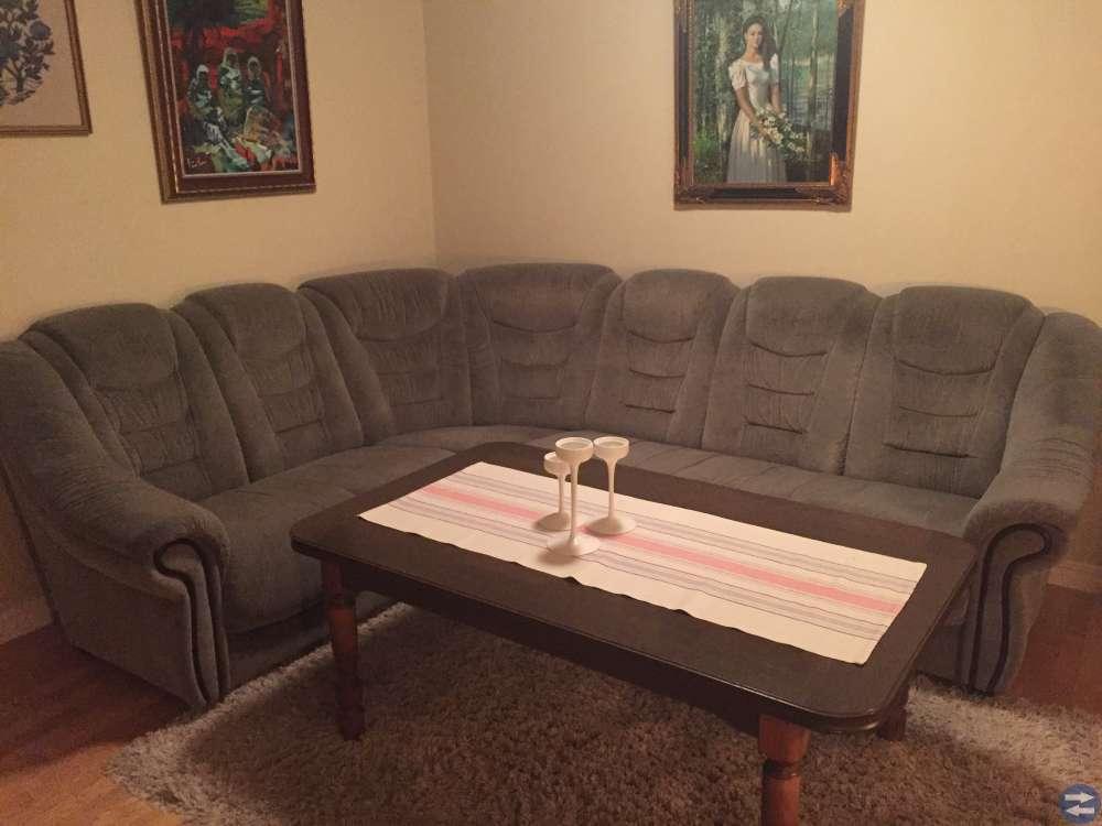 Soffa och soffbord