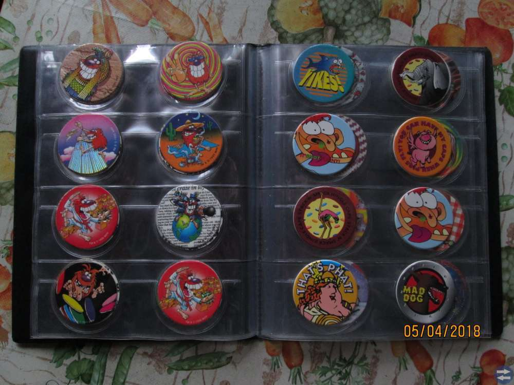 CAP Album 81 olika märken