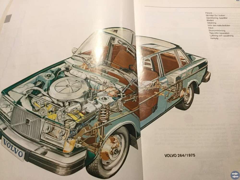 Gör det själv handbok för Volvo 240/260 1975-80