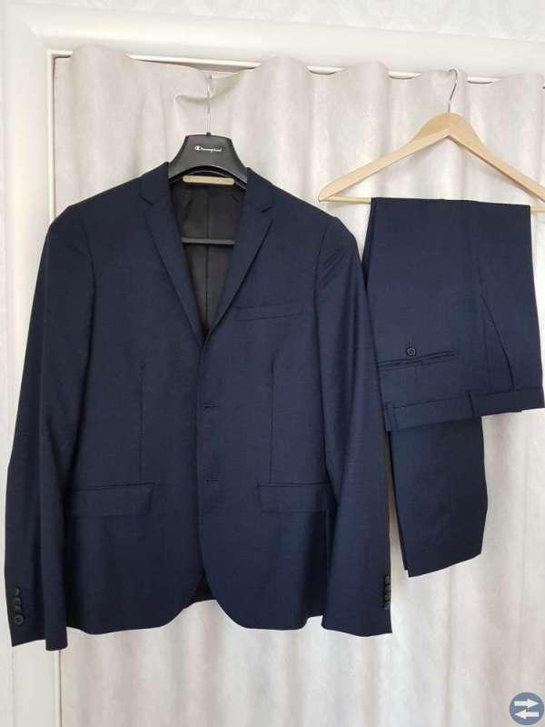 Volt, Kostym, blå stl 48