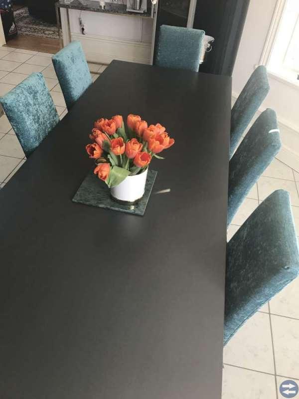 Bord och 8 stolar