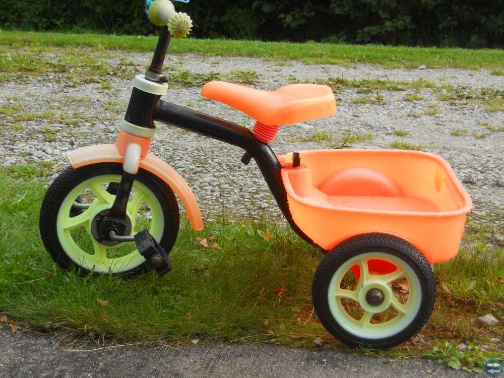 trehjuling En riktig kvalitetscykel