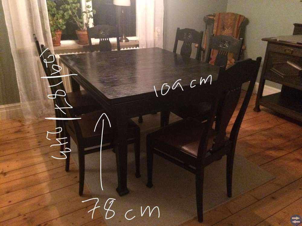 Matsals möbel