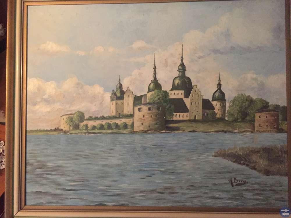 Tavla Kalmar Slott