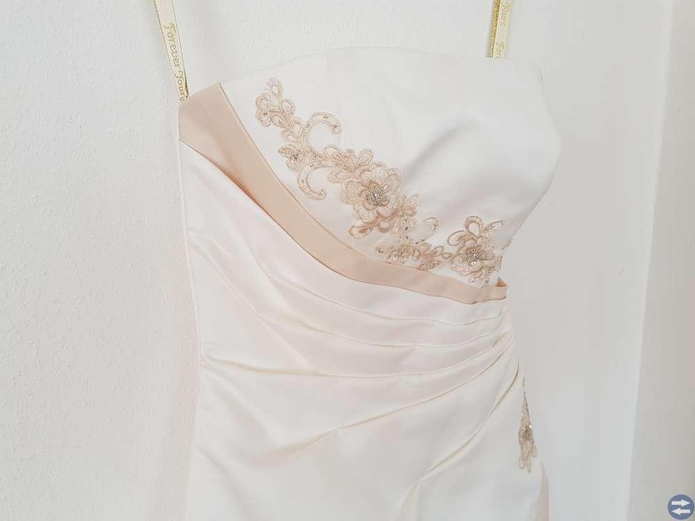 Fin brudklänning
