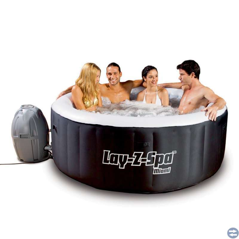 Lay-Z-spa Miami, jaccuzzi