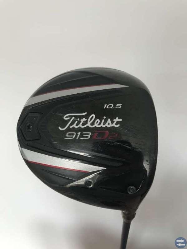Golf: Driver Titleist o Putter Odyssey Sänkt pris!