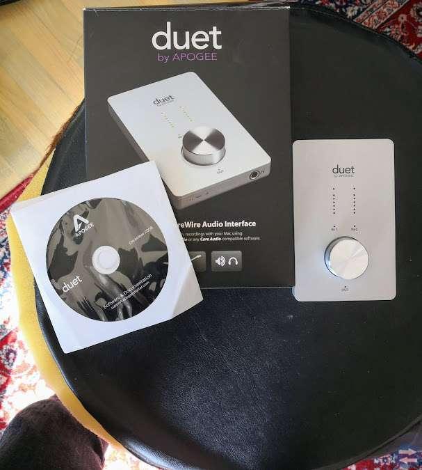 Audio Interface/Ljudkort Apogee Duett Fire Wire