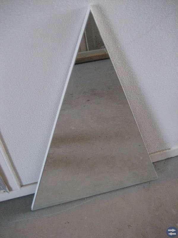 Speglar, vattenelement, altandörr, MC/Mopedhjälm