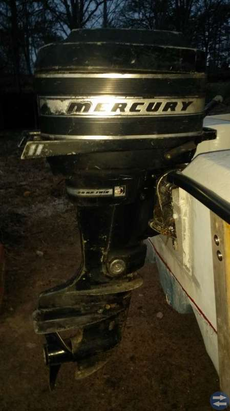 Mercury 20hk twin
