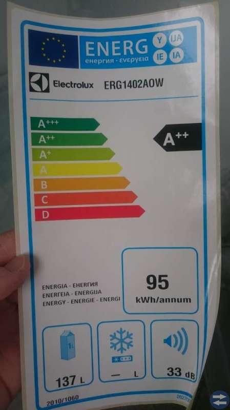 Electrolux kylskåp integrerad