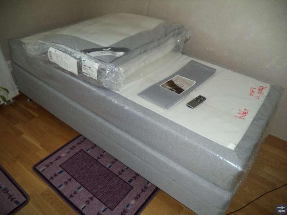 Viking. Ställbar säng. Flex och Duoflex B90 x L200