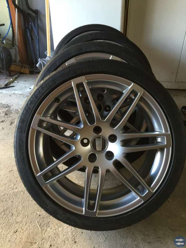 "Audi/VW RS4 19"" fälgar"