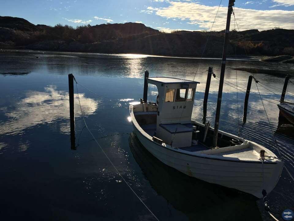 Liten fiskebåt 35 000kr/högstbjudande