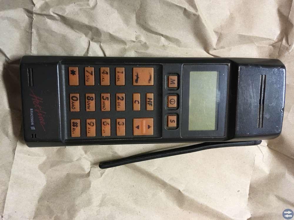 Mobiltelefon Ericsson Hotline