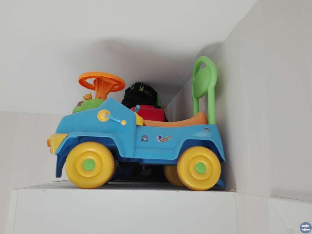 Nalle phu lära gå bil