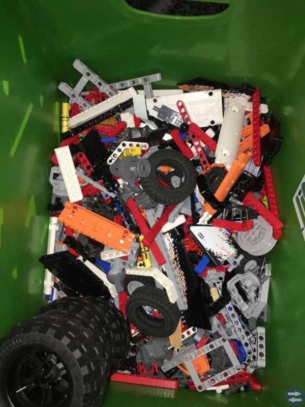 Lego Radiostyrd Bil + MER