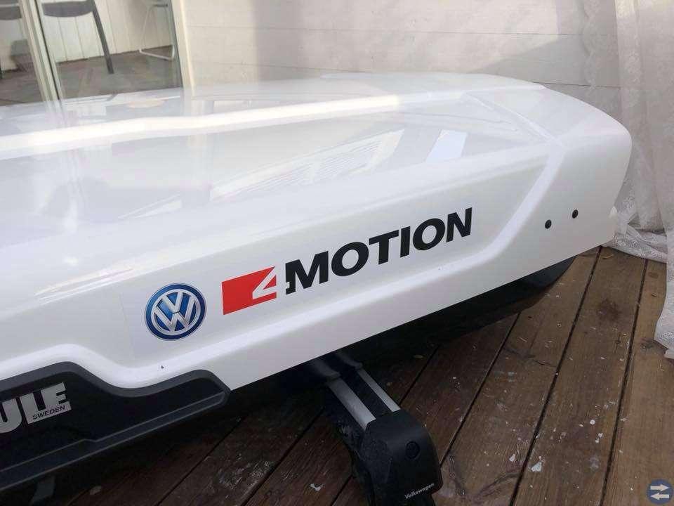 Ny takbox & lastbågar Thule motion XT Alpine