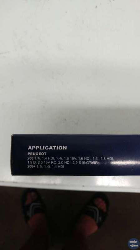 Kupefilter till Peugeot 206