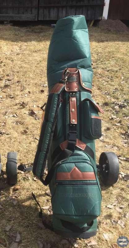 Golfset med vagn