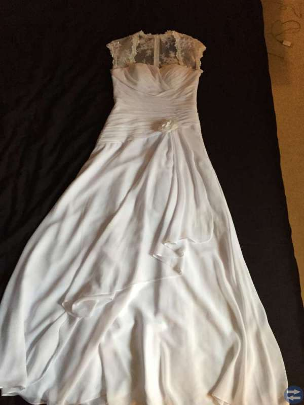 Bröllopsklänning strl 36/38