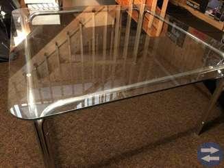 Soffbord, glas