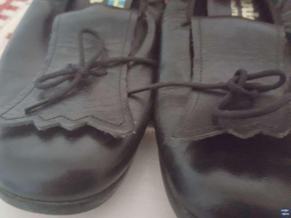 Dräktskor i läder för dans 38 - 39