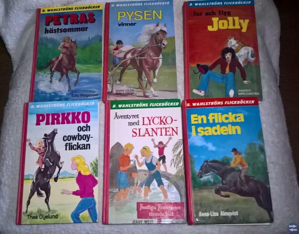 Wahlströms  flickböcker  ( fr.  70 - talet )