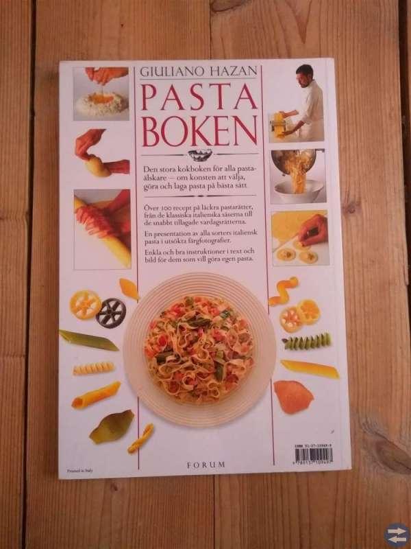 Italienskt kokbok: Pastaboken - Giuliano Hazan