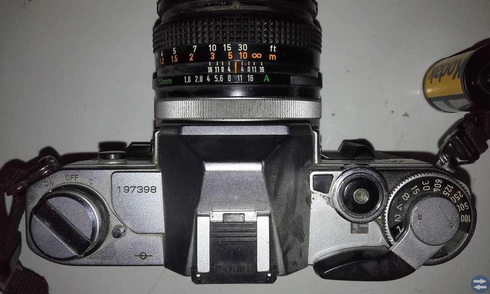 Canon systemkamra