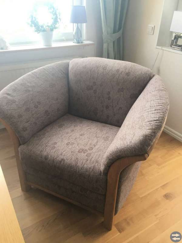 Bergen 3-sits sofa + fatölj og stuebord