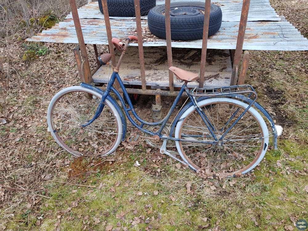 Damcykel/flickcykel Crescent 50-tal